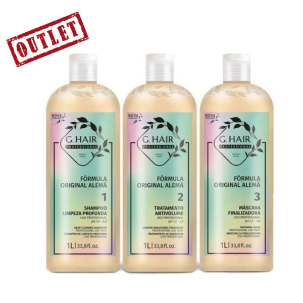 G Hair Kit German Keratin