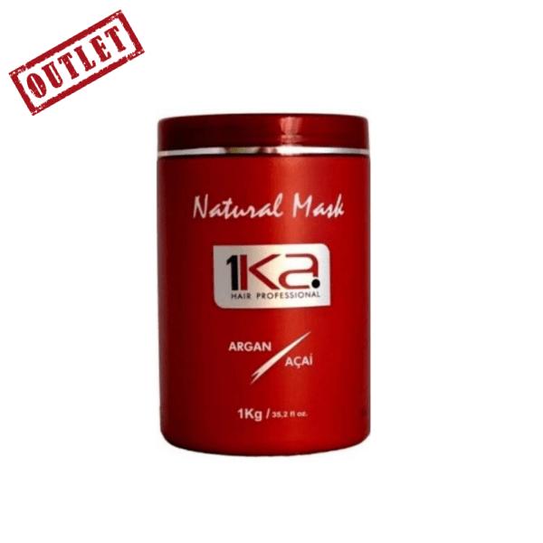 1KA, Natural Mask, Argan and Açaí, 1KG