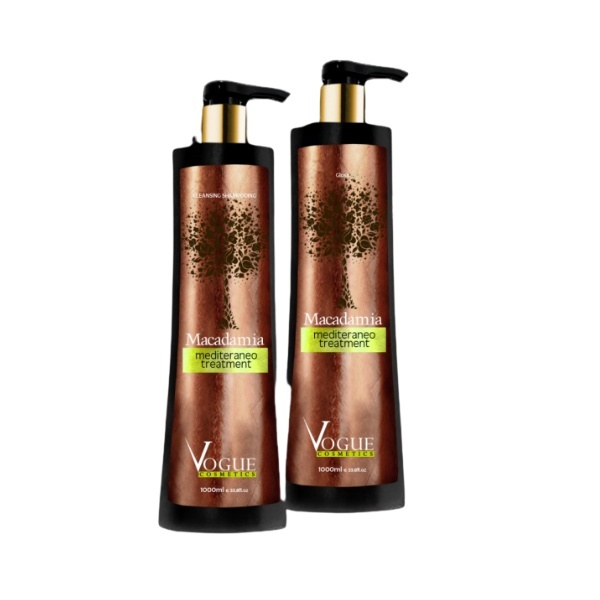 Vogue, Kit Macadamia Oil, 2x1L