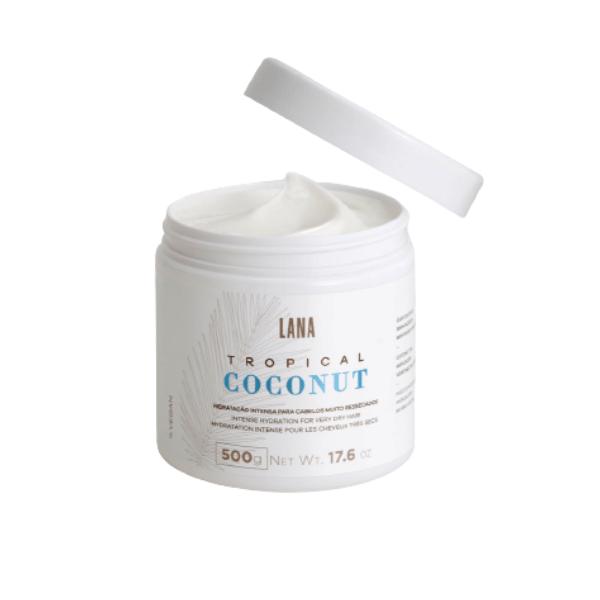 Lana Brasiles, Tropical Coconut Mask. 500g