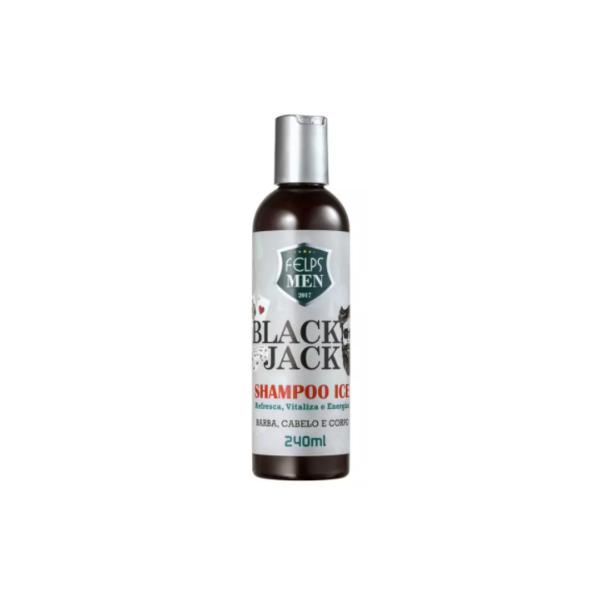 Felps, Men Black Jack Ice Shampoo, 240ml
