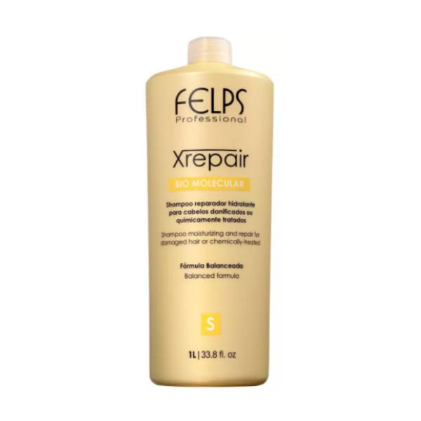 Felps, Shampoo for Damaged Hair X Repair Bio Molecular 1L