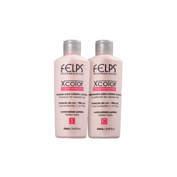 Felps, X Color Kit Duo (Shampoo + Conditioner), 2x250ml