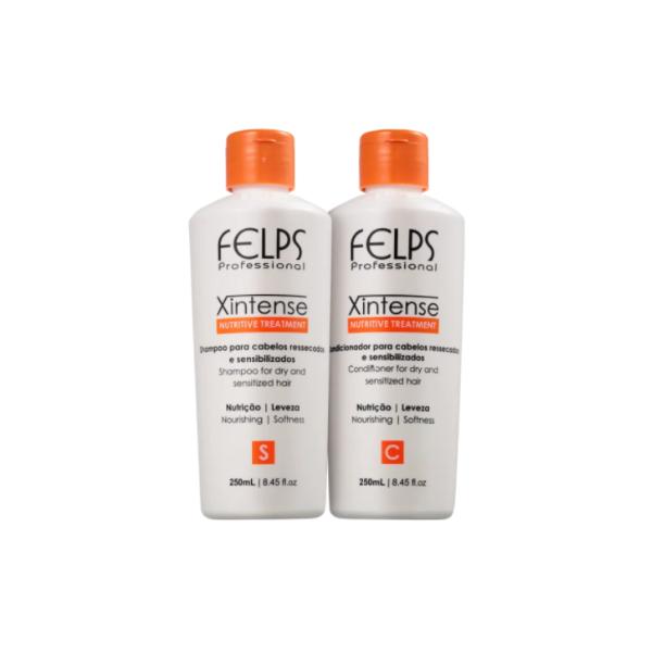Felps, X Intense Nutritive Treatment Kit Duo (Shampoo + Conditioner), 2x250ml