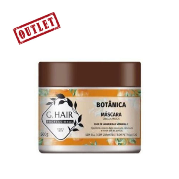 G.Hair, Botanical Mask for Mixed Hair, Orange Blossom, 500g