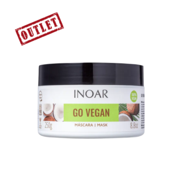 Inoar, Go Vegan Mask, Hydration and Nutrition, 250g (Outlet)