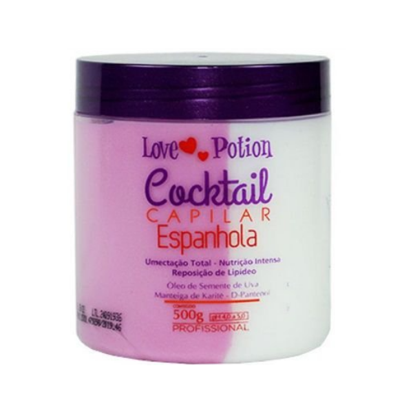 Love Potion, Capillary Cocktail Spanish Mask, 500g