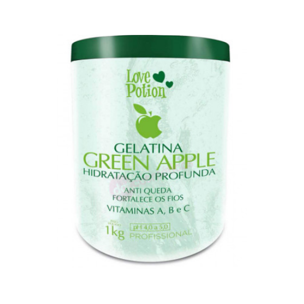 Love Potion, Green Apple Gelatin, 1kg