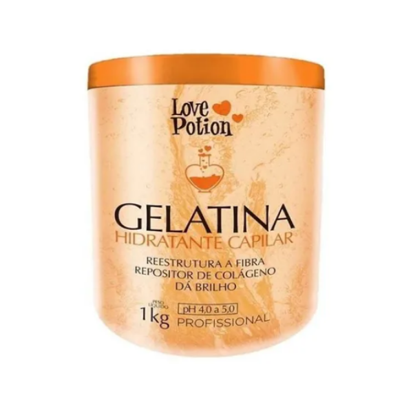 Love Potion, Traditional Capillary Moisturizing Gelatin, 1kg