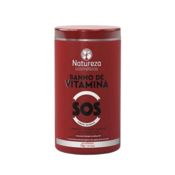 Natureza Cosméticos, Banho de Vitamina SOS, 1kg